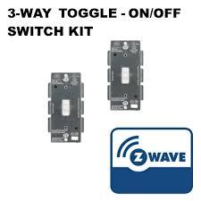ge 45604 wave. Ge 45604 Wave Wireless GE ZWave 3Way Toggle OnOff Switch Kit White