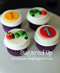 Sugared Up Toppers Handmade Fondant Cupcake Toppers