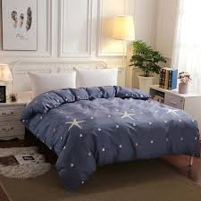 1 pcs modern brife style sanding duvet cover twin full queen king size comforter cover with
