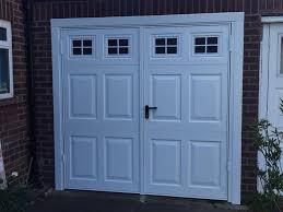 why choose side hinged garage doors