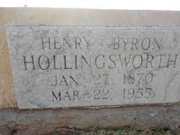 Henry Byron Hollingsworth, Sr (1870-1955) - Find A Grave Memorial