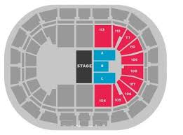 75 Prototypical Manchester Arena Seating Map