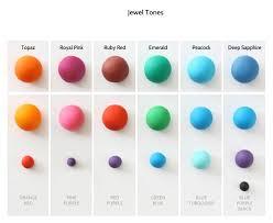 Fondant Colors Chart Jewel Tones Gif Colours Color Mixing Icing Colors
