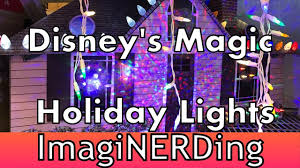 Disney Magic Holiday Lights For Your Home At Lowes Shot And Edited On The Iphone 7