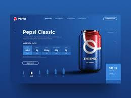 Site Disign Pepsi Web Site Ui Design Concept By Anton Suprunenko On Dribbble