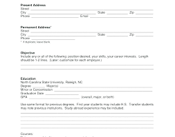 Fill In Resume Online Free Cool Fax Resume Online Free Matkappco