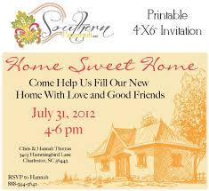 Printable Customized House Warming Party Invitations. $4.99, via Etsy.