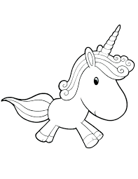 Coloring Pages Unicorn Unicorn Coloring Page Printable Unicorn