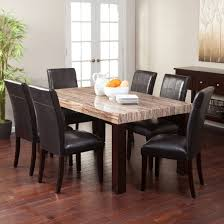 dining room unique round dining room tables four pieces covered leather farm table diy farmhouse set
