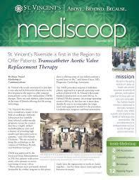 September 2012 - St. Vincent's Health System