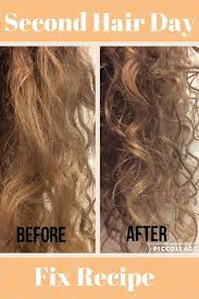 second hair day fix recipe wake up in the morning after you wash your hair and it is absolutely full of frizz let me help you with that