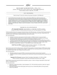 Chief Accounting Officer Resume Treasury Accountant Resume Of Cost