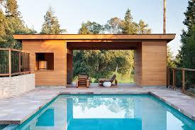 open pool house. Modern Pool House Open P