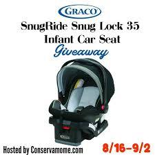 graco snugride infant car seat giveaway