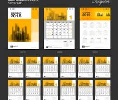 table calendar template free download desk calendar vector for free download