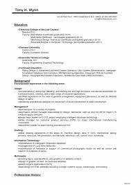 Simple Resume Format In Word File Free Download Elegant