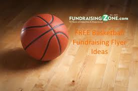 Fundraising Flyer Ideas Free Basketball Fundraiser Flyer Templates Fundraisingzone Com
