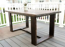 full size of diy modern wood dining table industrial rustic outdoor by live creatively kitchen agreeable