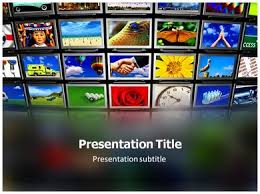 tv powerpoint templates television powerpoint templates and backgrounds