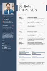 30 Best Free Resume Templates 30 Psd Ai Doc Adobe Resume Template