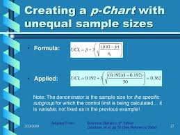 P Charts Attribute Based Control Charts Ppt Download