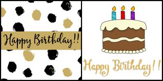 Birthday Printable Cards Free Printable Happy Birthday Cards Cultured Palate