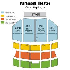 Rapids Theatre Seating Chart Tickets Cirque Dreams Holidaze Cedar Rapids Ia At