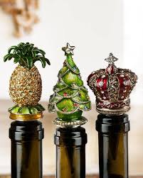 Pineapple Jeweled Wine Stoppers Main