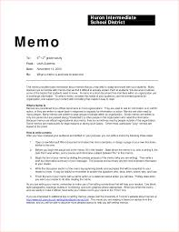 Inter Office Memo Format Business Memo Examples Inter Office Sample Example Contract