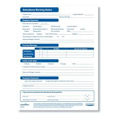 free employee warning forms employee warning form notice free pdf handtype