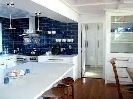 blue and grey backsplash kitchen decorating using blue grey glass tile painted kitchen including white wooden