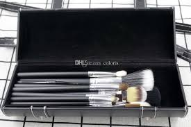 makeup brushes set multipurpose black