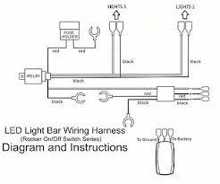 led light bar wiring harness rocker switch led wiring harness blue rear lights laser rocker switch on off for 2 on led light bar