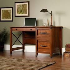 computer desk with two file drawers for small home office u0026 bedrooms