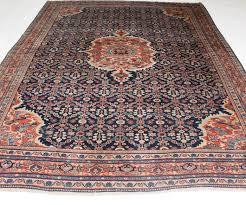 antique persian carpet palace sarouk mahal saruk 1890 vegetable colors unique carpet 270x380cm