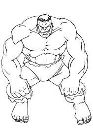 Free Printable Hulk Coloring Pages For Kids Coloring Pages