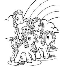 My Little Pony Rainbow Dash 3 Coloring Page Free Coloring Pages Online