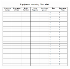Inventory Sign Out Sheet Template Excel Excel Inventory List ...
