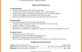 Resume Examples For High School Students With No Experience ...