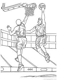 Small Picture Basketball Coloring Pages 6 Places to Visit Pinterest Color