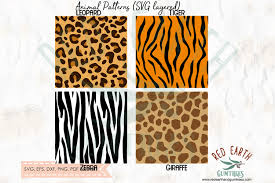 Free for commercial use no attribution required high quality images. Safari Animals Patterns Template Graphic By Redearth And Gumtrees Creative Fabrica