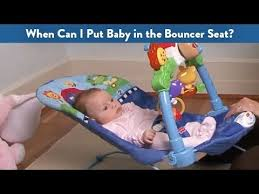 When Can I Put Baby in the Bouncer Seat? | CloudMom - YouTube