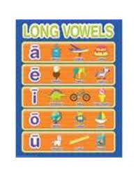 Color My World Basic Learning Long Vowels Chart