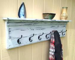 Monterey Wall Mounted Coat Rack In White