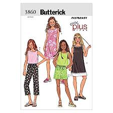 Butterick Plus Size Patterns Beauteous Butterick Patterns B448 Size 44848484848 Girls Plus TopDress
