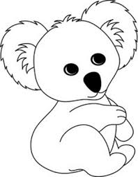 Small Picture cute koala coloring pages coloring kids Pinterest
