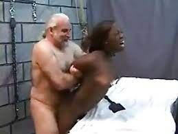 Ebony Teen Fucks Old White Man