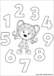 Small Picture Umizoomi coloring picture Colouring Activity Sheets Pinterest