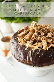 Chocolate Salted Caramel Cheesecake Recipe with Philadelphia Cream