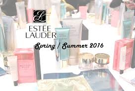 estée lauder spring summer 2016 press event